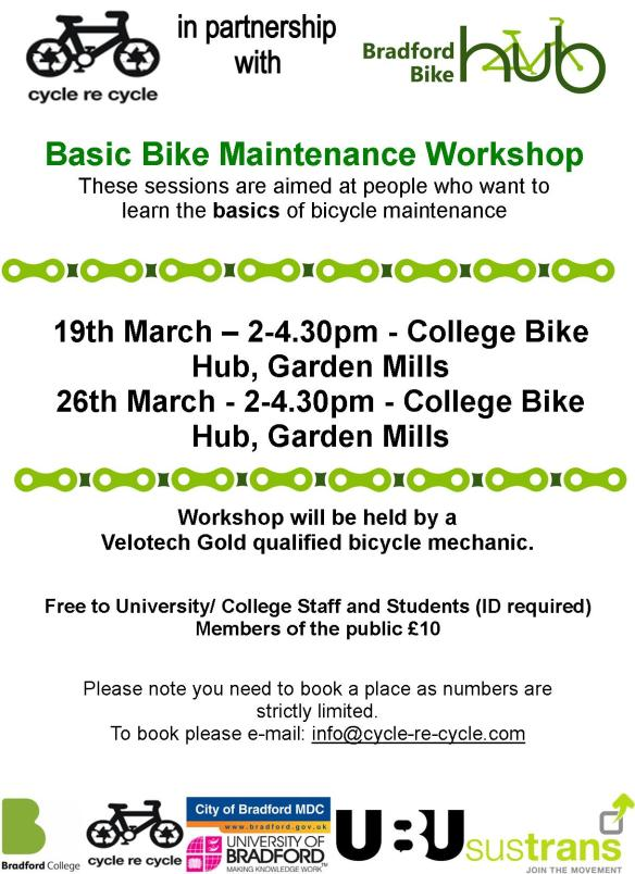 basic bike maintenance - mar